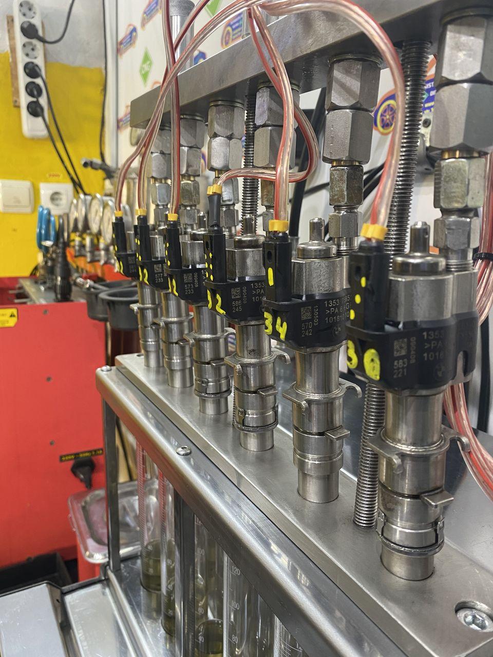 стенд высокого давления для инжекторов свд svd